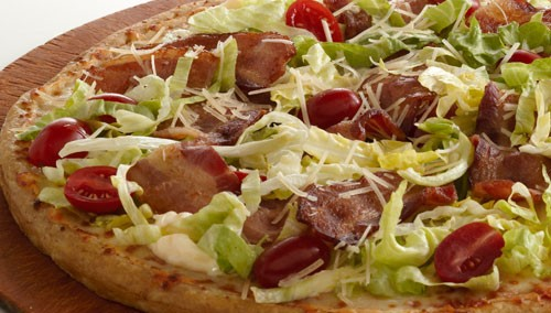 Get your grill on with the BLT Pizza