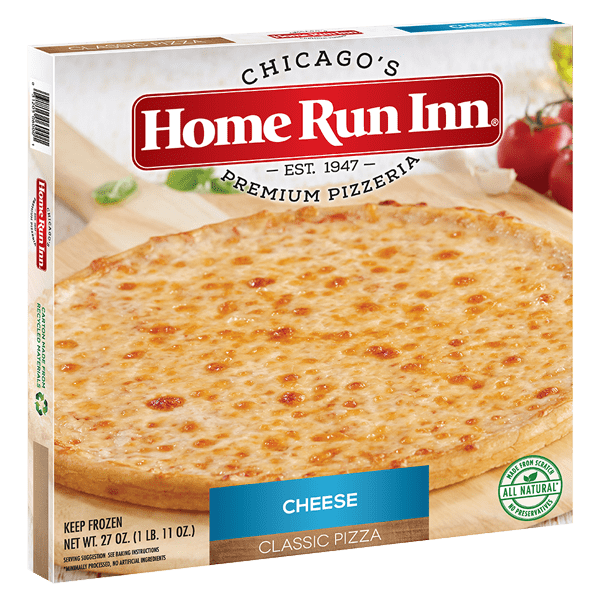 Home Run Inn Classic Cheese Pizza Box