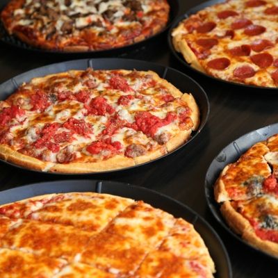 Assortment of Pizza Types