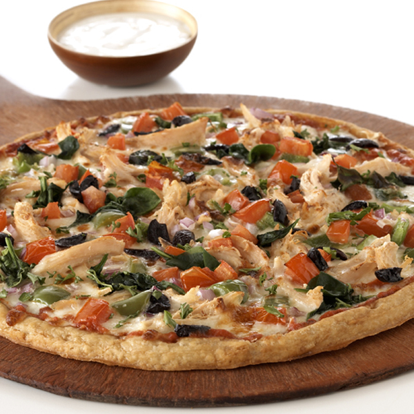 Chicken Kabob Pizza Recipe