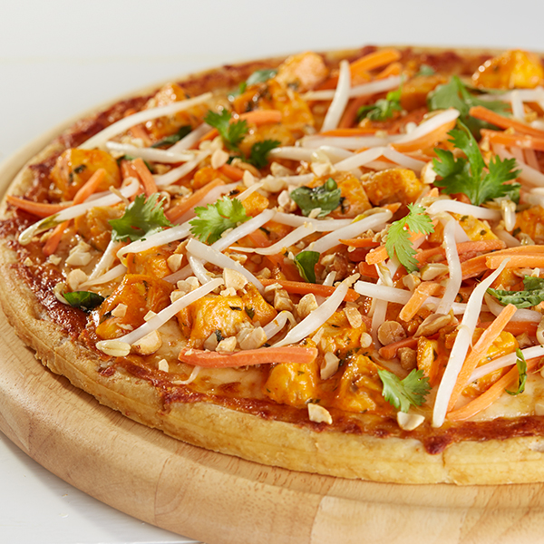 Chicken Sriracha Pizza Recipe