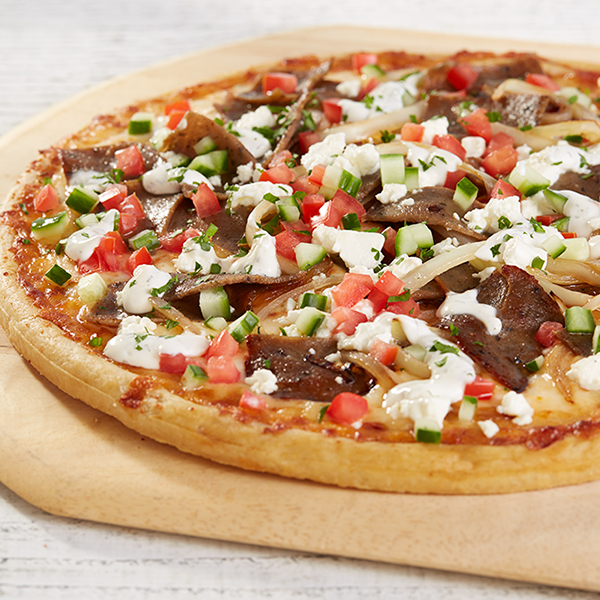 Gyro Inspired Pizza Recipe