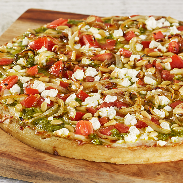 """Pinch Hitter"" Pesto Pizza Recipe"
