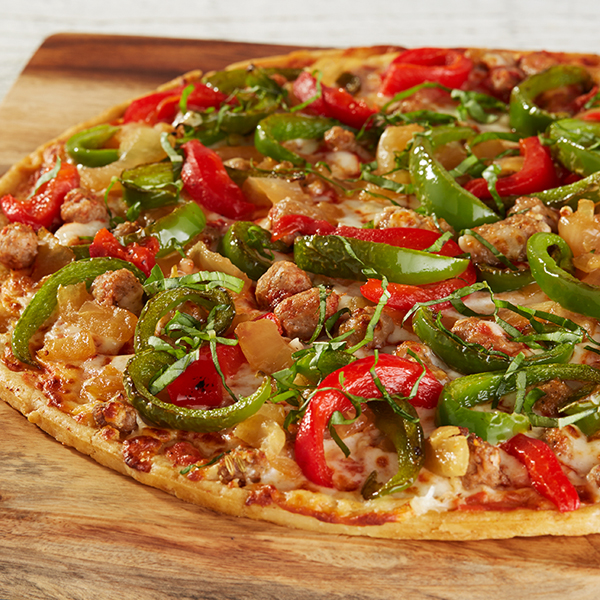 Sweet & Spicy Sausage Pizza Recipe
