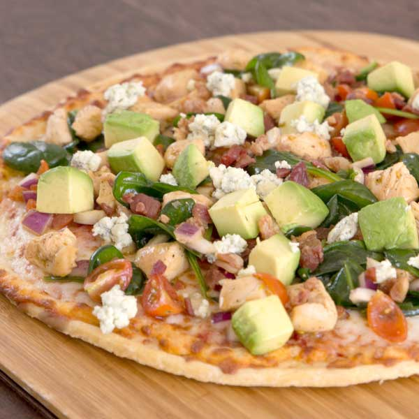 Cobb Salad Pizza Recipe