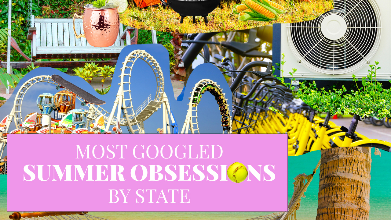 The Most Googled Summer Obsessions by State