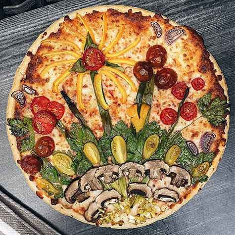 Summer Garden Pizza Recipe
