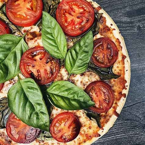 Balsamic Tomato Basil pizza recipe