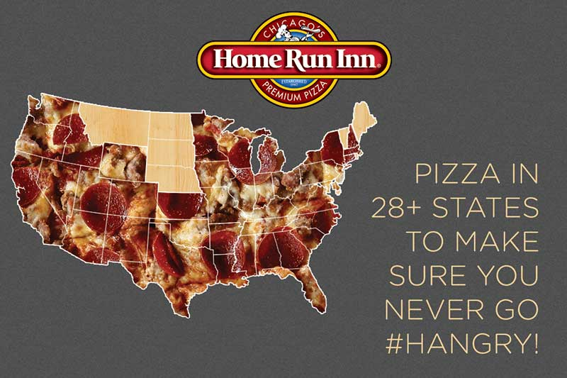 pizza in 28+ states to make sure you never go hangry