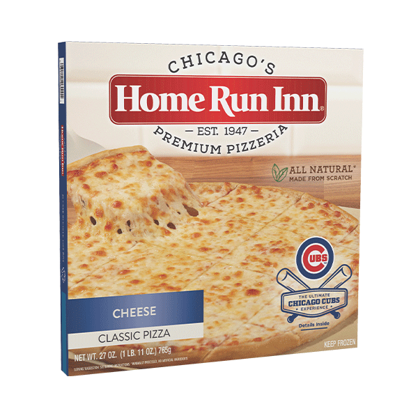 Cheese pizza cubs box