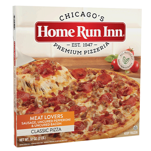 12 in classic meat lovers pizza box