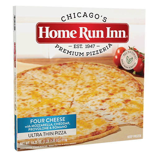 ultra thin 12 in four cheese pizza box